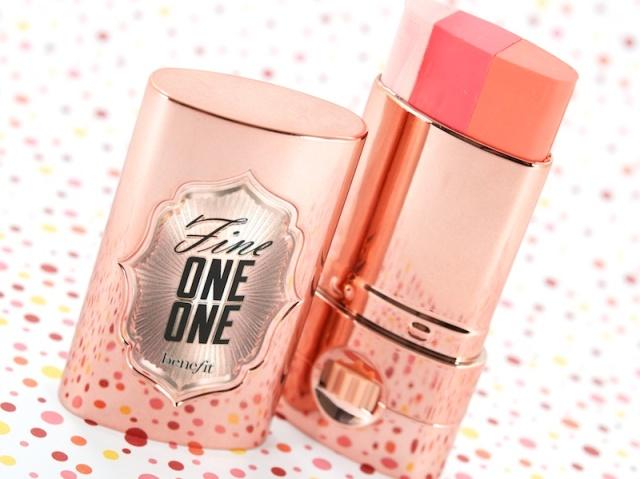 Benefit, Fine One One, Makeup, blush, cream blush, highlighter, cosmetics, beauty, travel, cheeks