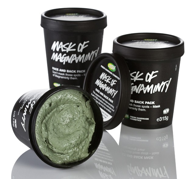Lush, Face Mask, Beauty, Skin care, acne, oily skin, cleanser, exfoliating, pampering, luxury, cosmetics