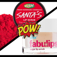 Face Off: Lush Lip Scrub vs. Bliss Fabulips