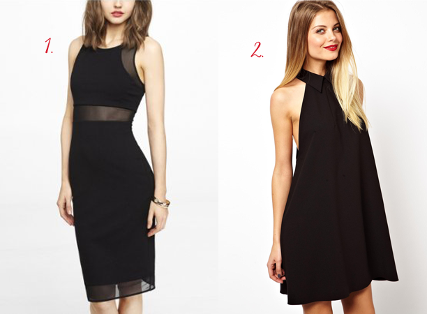 Express, ASOS, LBD, fashion, dresses