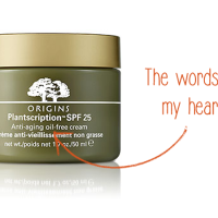 Product Review: Origins Plantscription SPF 25 Anti-Aging Oil-Free Cream